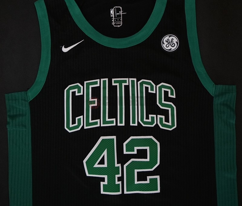 ... Camisetas NBA Nike Boston Celtics NO.42 Al Horford Negro Barats ... fa3afc1ac0c79