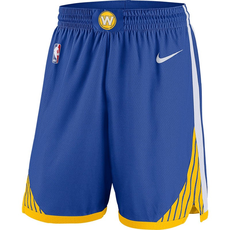 Pantalones Basket Niño Golden State Warriors Azul Barats