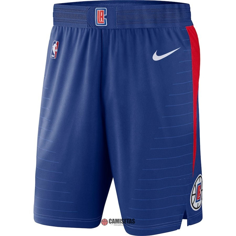 Pantalones Basket Los Angeles Clippers Nike Azul Icon 2018 Barats