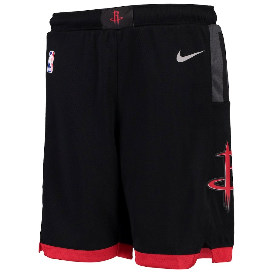 Pantalones Basket Niño Houston Rockets Nike Negro Statement 2018 Barats