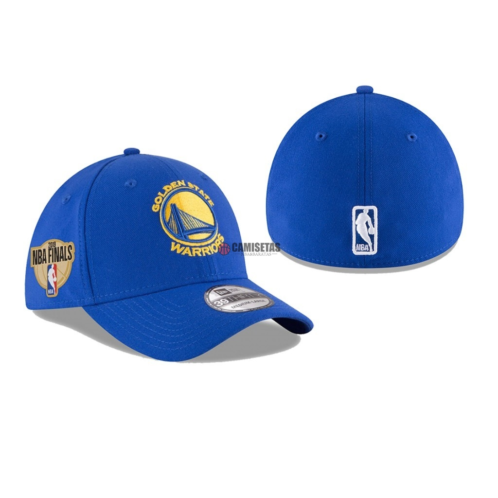 Gorros 2019 NBA Finals Golden State Warriors Azul 01 Barats