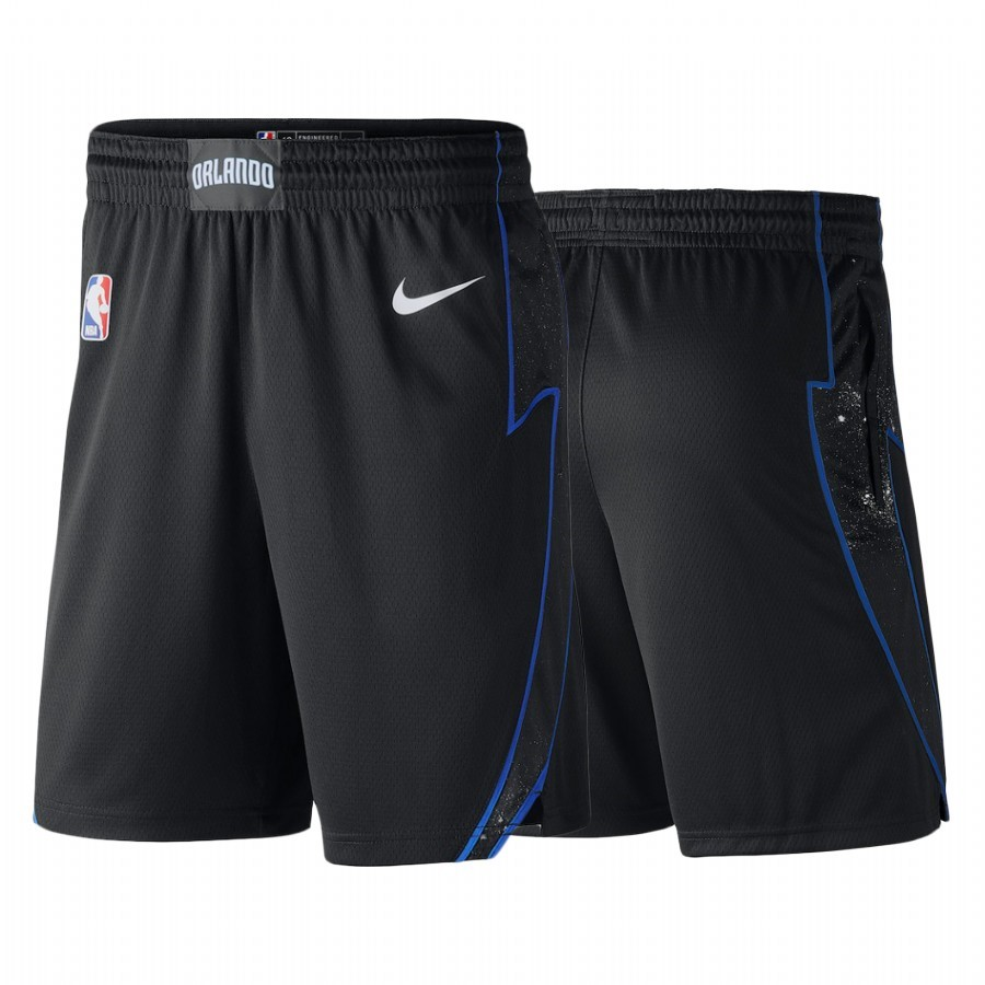 Pantalones Basket Orlando Magic Nike Negro Negro