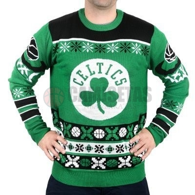 Unisex Ugly Sweater Boston Celtics Verde Barats