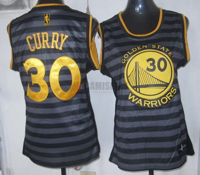 Camisetas NBA Mujer Groove Fashion NO.30 Stephen Curry Barats