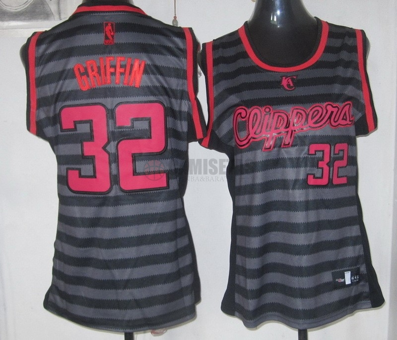 Camisetas NBA Mujer Groove Fashion NO.32 Blake Griffin Barats