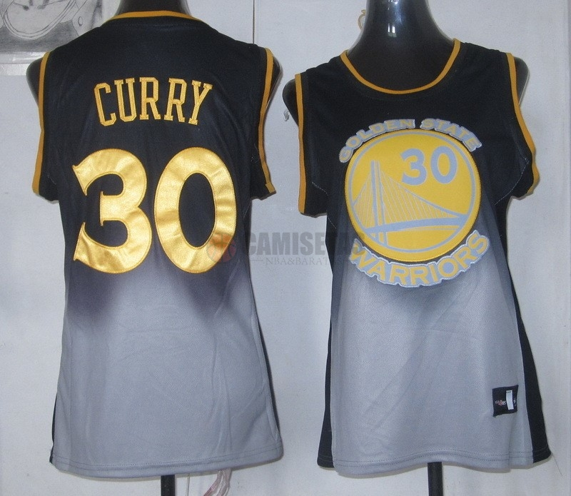 Camisetas NBA Mujer Resonar Moda NO.30 Stephen Curry Barats