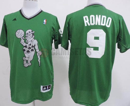 Camisetas NBA Boston Celtics 2013 Navidad NO.9 Rondo Veder Barats