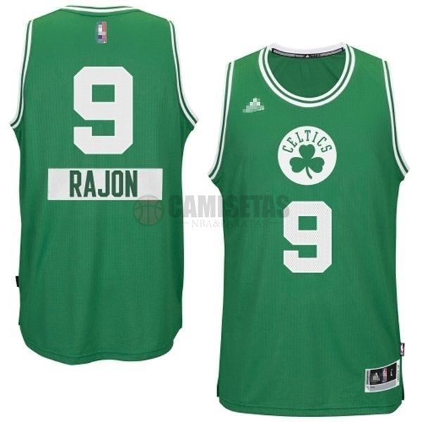 Camisetas NBA Boston Celtics 2014 Navidad NO.0 Damian Negro Barats