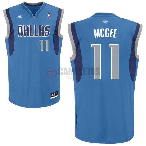 Camisetas NBA Dallas Mavericks NO.11 Monta Ellis Azul Barats