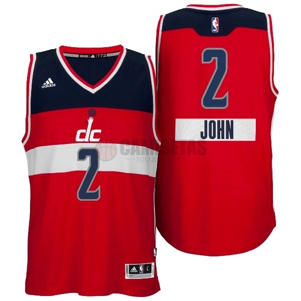 Camisetas NBA Washington Wizards 2014 Navidad NO.2 John Rojo Barats
