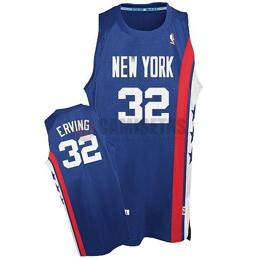 Maillo ABA Brooklyn Nets NO.32 Erving Azul Barats