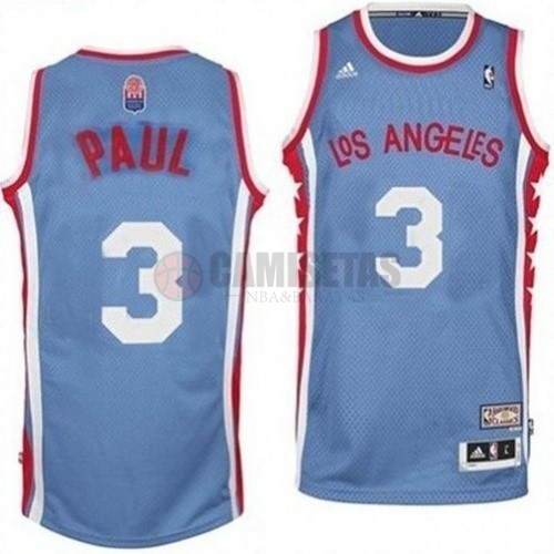Maillo ABA Los Angeles Clippers NO.3 Paul Gris Barats