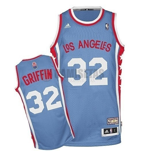 Maillo ABA Los Angeles Clippers NO.32 Griffin Gris Barats