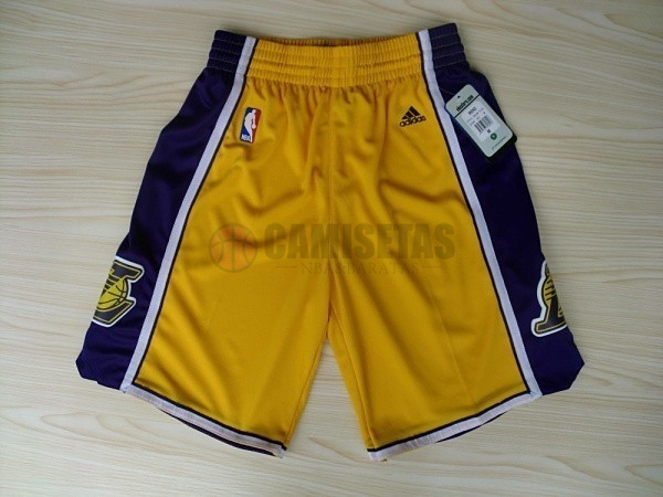 Pantalones Basket Los Angeles Lakers Amarillo 2018 Barats