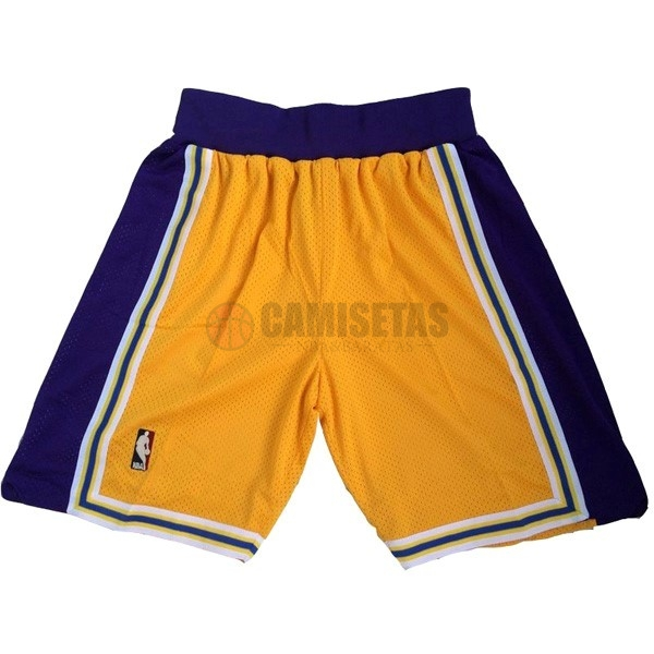 Pantalones Basket Los Angeles Lakers Amarillo Barats
