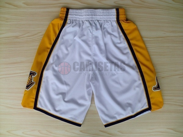 Pantalones Basket Los Angeles Lakers Blanco 2018 Barats