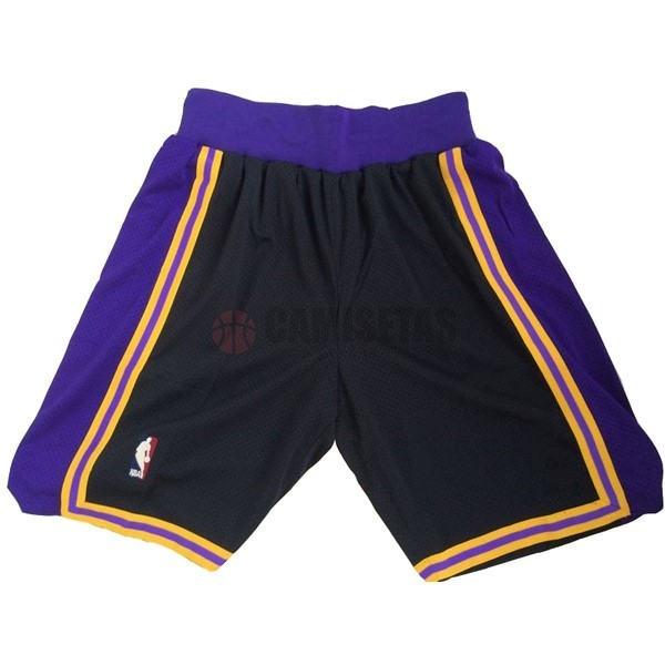 Pantalones Basket Los Angeles Lakers Púrpura Barats