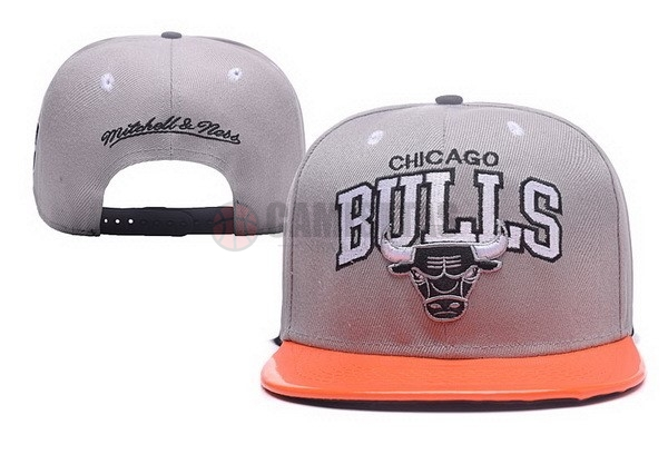 Gorros NBA 2017 Chicago Bulls Gris NO.02 Barats