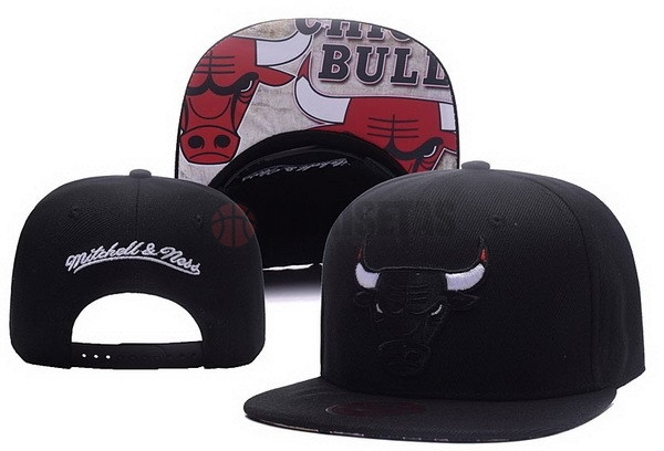 Gorros NBA 2017 Chicago Bulls Negro NO.01 Barats