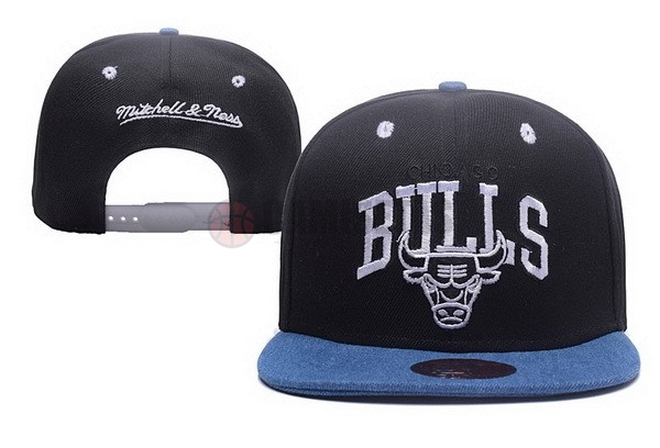 Gorros NBA 2017 Chicago Bulls Negro NO.02 Barats